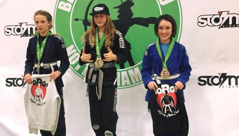 HEREFORD JUNIOR SPORTS STAR TOP IN THE UK FOR BJJ (BRAZILIAN JIU JITSU)