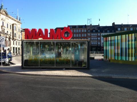 Malmö visar upp sig på Eurovision Fan Mile