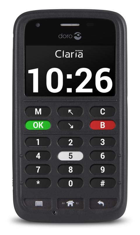 Doro 820 Mini Claria för synskadade lanseras nu i Sverige
