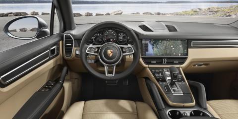 Interior - den nye Porsche Cayenne