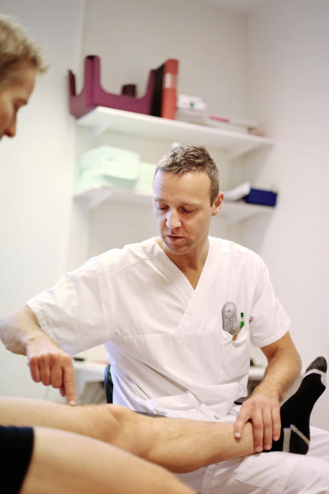 Idrottsskademottagning får fler övertränade patienter