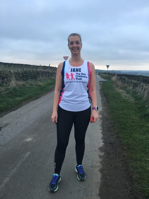 Meet Jane, one of our Virgin Money London Marathon Runners