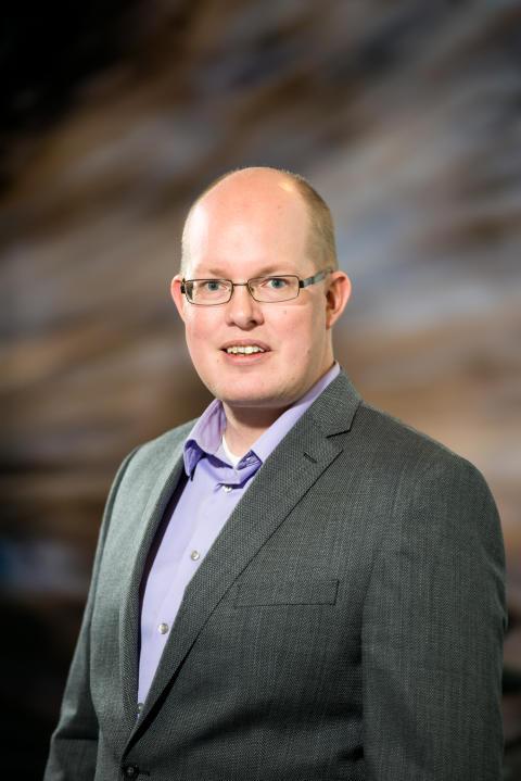 Rikard Mäki, teknologiplaneringschef  Volvo CE.