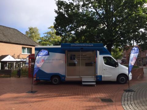 Beratungsmobil der Unabhängigen Patientenberatung kommt am 17. Oktober nach Soltau.