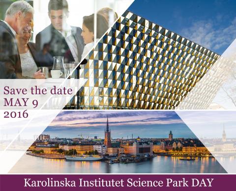 KI Science Park DAY 2016 – Save the date