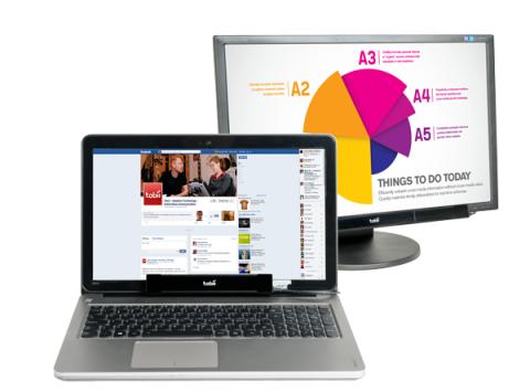 Tobii Unveils Ultraportable Computer-Access Peripheral, Bringing Gaze Interaction to Standard Laptops and Computers
