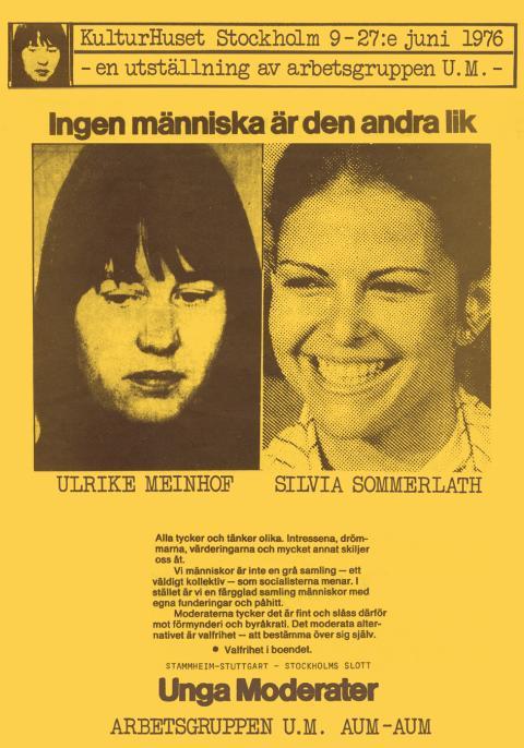 """Sture Johannesson, """"Ingen människa är den andra lik"""", 1976"""