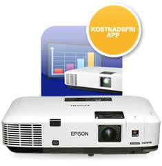 Projicera dokument och foton trådlöst med Epson iProjection-app