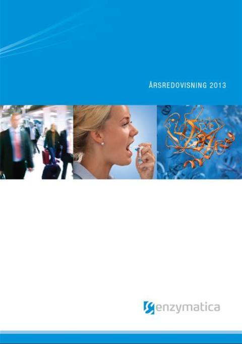 Enzymatica publicerar årsredovisningen för 2013