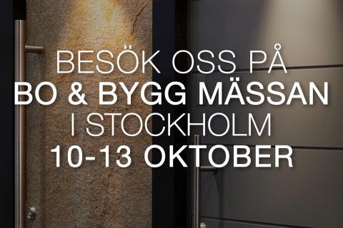 Ekstrands på Bo & Bygg i Stockholm 10-13 oktober 2019