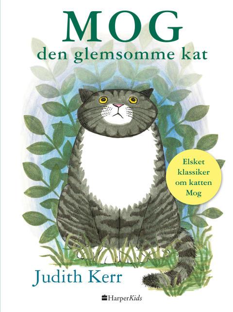 """""""MOG -  den glemsomme kat"""" af Judith Kerr"""
