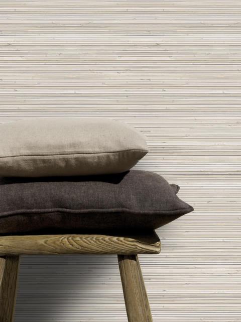 Elegant bambumönster i bruna nyanser!