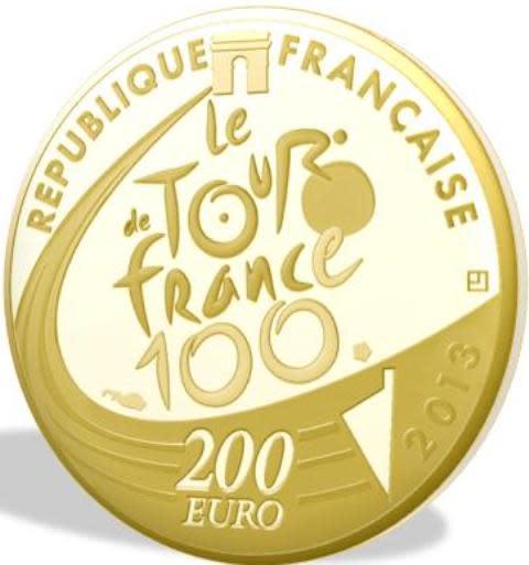 Tour de France - guldmynt