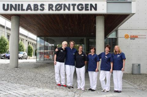 Ansatte ved Unilabs Røntgne Trondheim