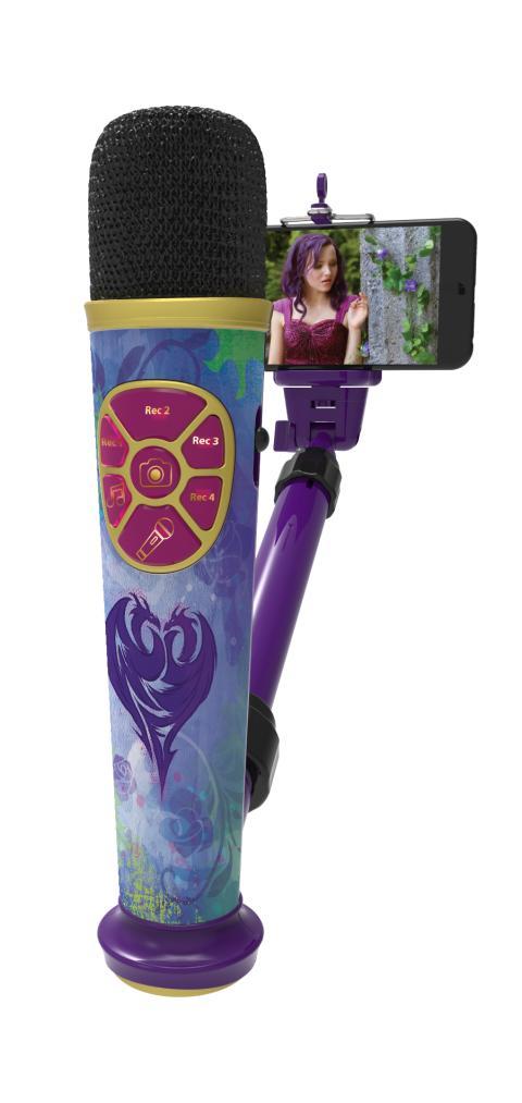 Kid Designs - Descendants selfie Star video recording mic
