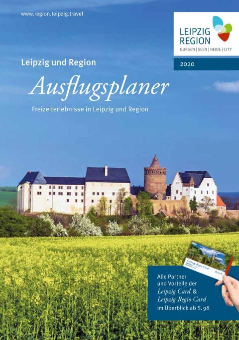 """""""Ausflugsplaner 2020"""" für Leipzig und Region – Titelmotiv: Burg Mildenstein in Leisnig – Foto/Gestaltung: Sylvio Dittrich / LTM"""