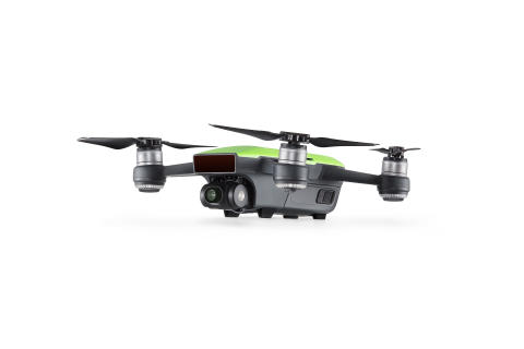 DJI Spark Meadow Green - Side