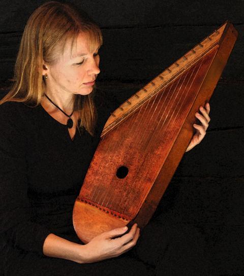 Arja Kastinen, Harpans kraft, 25 oktober 19.30 - Uppsala International Sacred Music Festival