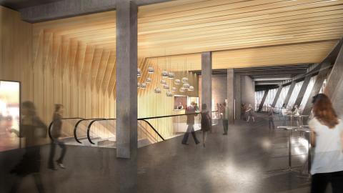 Tele2 Arena - VIP foyer