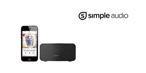Simple Audio Go - kompakt og bærbar Bluetooth højttaler