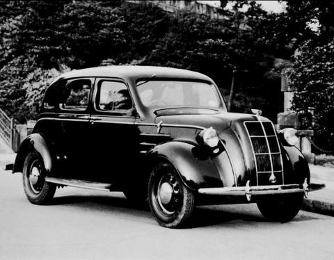 1936 model AA sedan