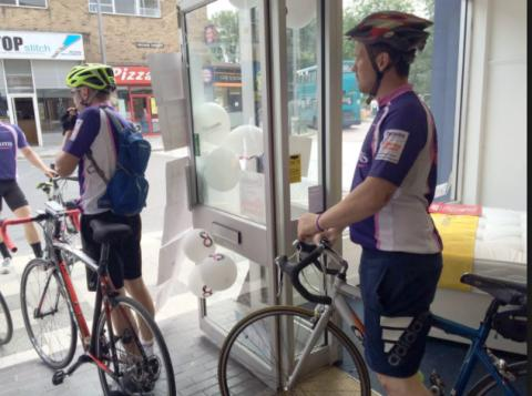 Dreams cycle 88 miles in aid of The Fostering Network
