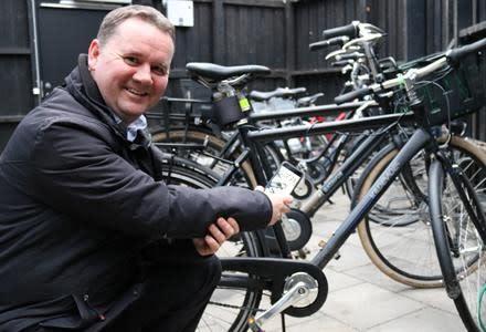 If utvecklar nytt digitalt ramnummer till cyklar