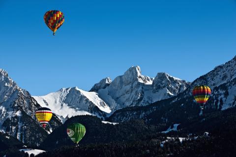 Auf in den Himmel – Ballonfestivals in der Schweiz