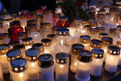 Vi minns på Alla helgons dag 5 november