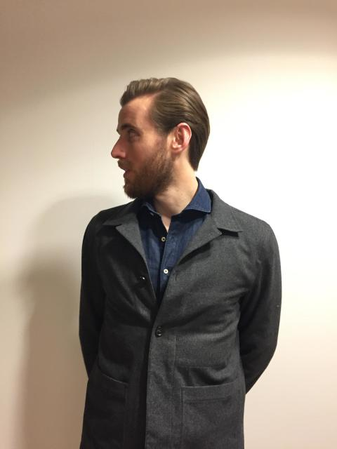 Carl-Johan från Landgren skänkte sitt hår till ett företag som tillverkar medicinska peruker