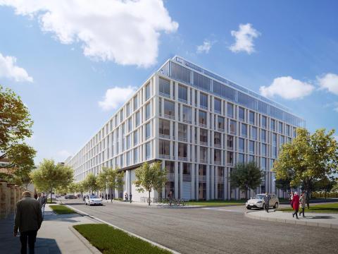 Skanska investerar EUR 33M, cirka 310 miljoner kronor, i andra fasen av kontorsprojekt i Budapest, Ungern
