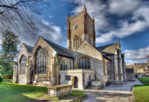 The historic and beautifully renovated church in the heart of Kingston Upon Thames