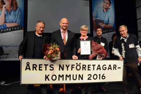 Årets nyföretagarkommun 2016: Östersund är Sveriges bästa kommun för nya företagare
