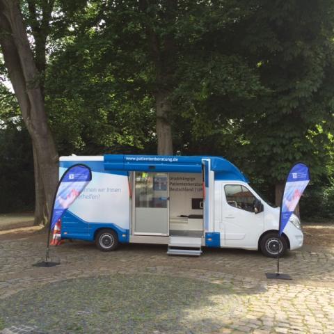 Beratungsmobil der Unabhängigen Patientenberatung kommt am 16. September nach Nienburg.