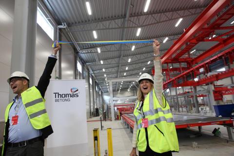 Thomas Betong bidrar med årlig produktion motsvarande 4 000 nya lägenheter