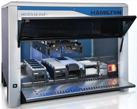 瑞士哈美顿与Illumina公司合作实现二代测序的样本准备自动化