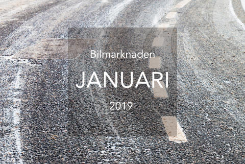 Bilmarknaden januari 2019