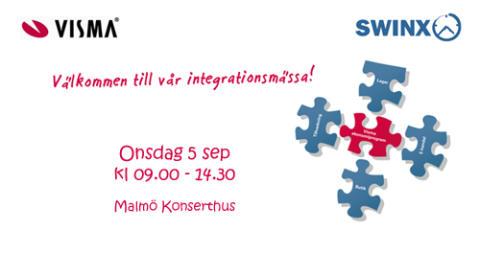 Swinx visar fakturaskanning tillsammans med Visma i Malmö