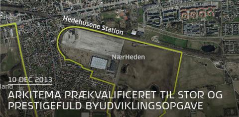 Arkitema er prækvalificeret til stor og prestigefuld byudviklingsopgave