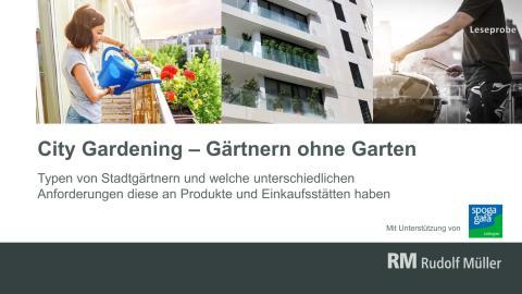 """Leseprobe """"City Gardening"""""""