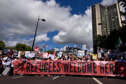 """Den globala """"Refugees Welcome Index"""" visar att regeringars flyktingpolitik inte stämmer överens med allmänhetens uppfattning"""