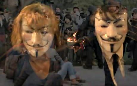 Anonymous – hjältar i världen, feministhatare i Sverige