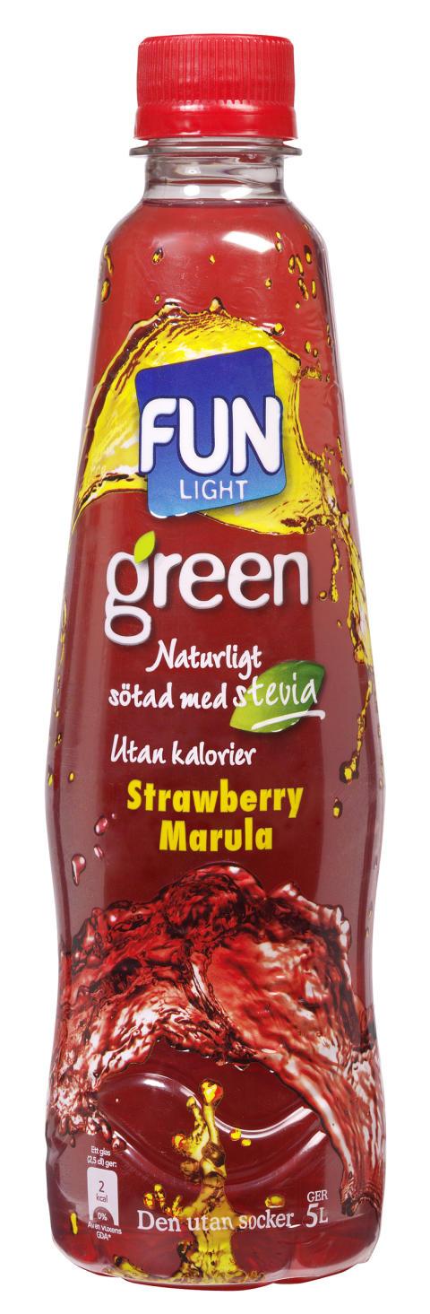 FUN Light Green Strawberry Marula