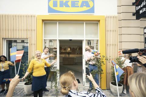 Festlig åbning da IKEA slog dørene op til Planning Studio på Vesterbro i København