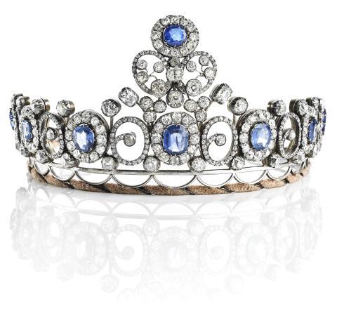 Queen Alexandrine's Russian Imperial Wedding Gift up for Auction in Copenhagen