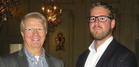 Leif Sjöqvist, Årets mentor Örebro län t.v. och adepten Marcus Mattson