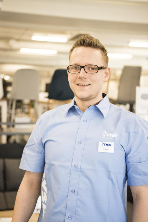 Butikksjef Ole Anders Eidsør