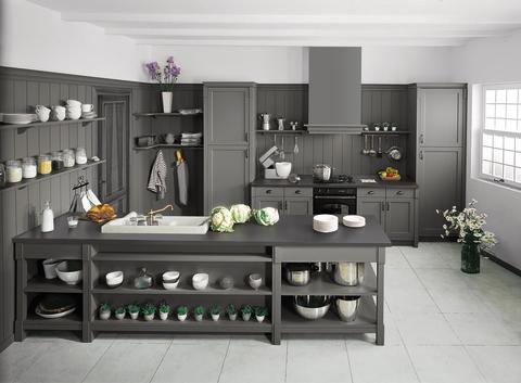 Schmidt køkken gråt moderne