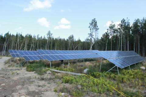 Nu kan våra kunder köpa närproducerad solkraft från Sveriges största privata solcellspark