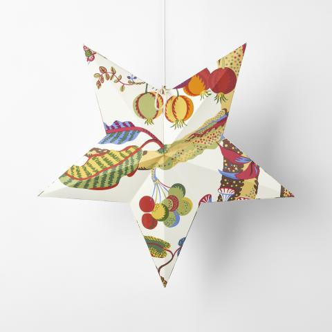 Svenskt_Tenn_Lamp_Advent_Star_Fabric_Vegetable_Tree_1